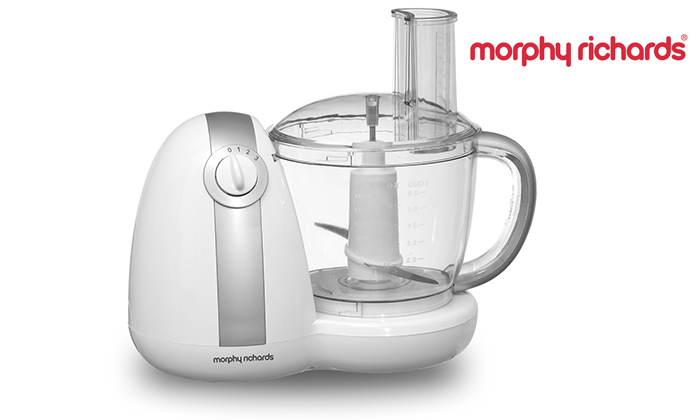 2 מעבד מזון Morphy richards דגם 48438T מתצוגה