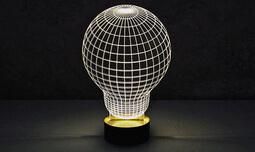 מנורת הולוגרמה