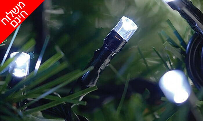 11 שרשרת נורות LED סולאריות - משלוח חינם
