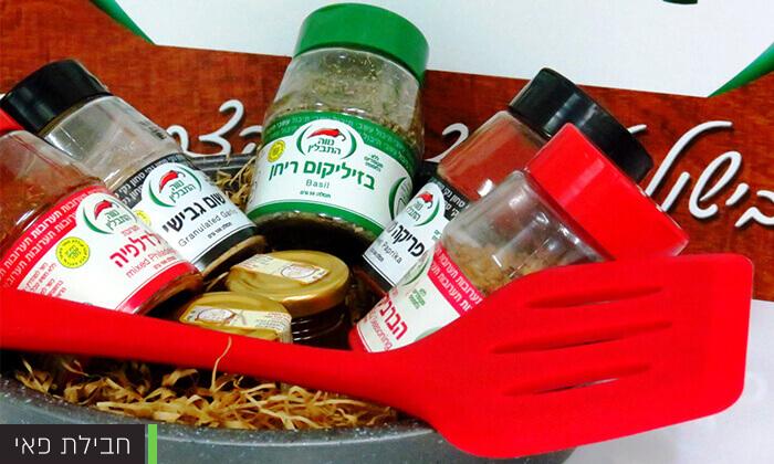 5 שי לחג - חבילות תבלינים מתוצרת נווה התבלין, נתניה