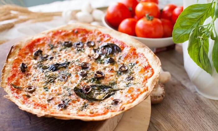 2 ארוחה בפיצה עגבניה, סניף אילת הכשר למהדרין