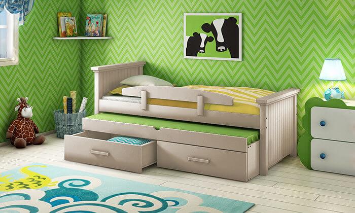 7 שמרת הזורע - מיטת ילדים ב-2 מידות לבחירה