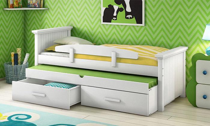 8 שמרת הזורע - מיטת ילדים ב-2 מידות לבחירה