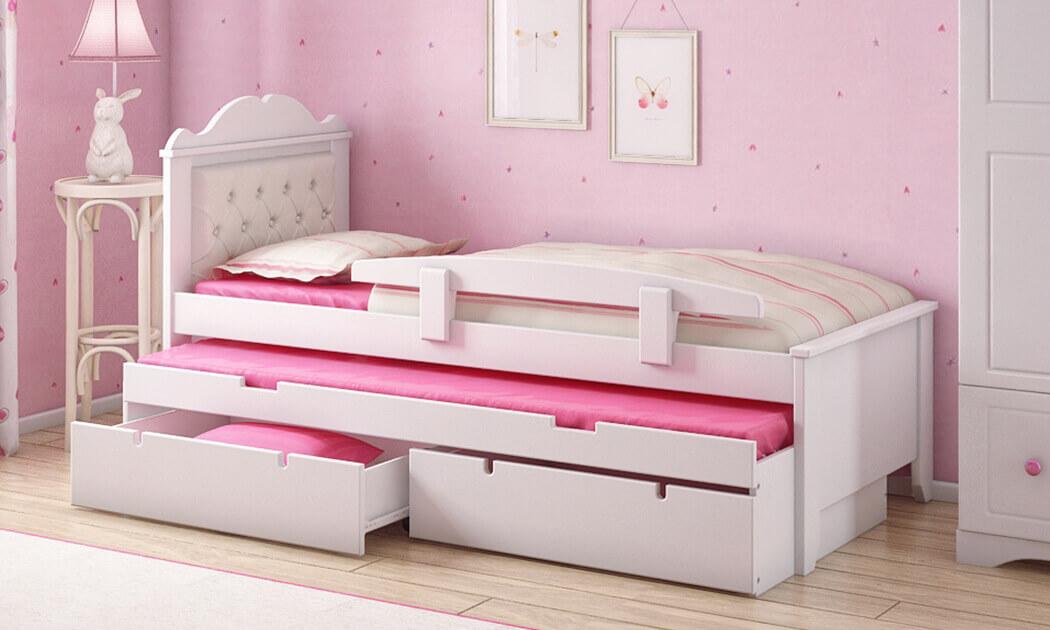 4 שמרת הזורע: מיטת ילדים דגם פנדורה