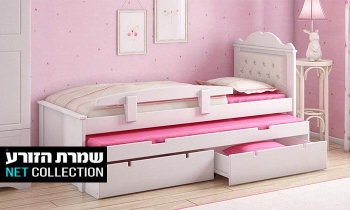 2 שמרת הזורע: מיטת ילדים דגם פנדורה