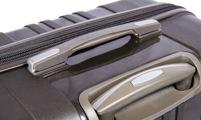4 מזוודות SWISS בגדלים שונים