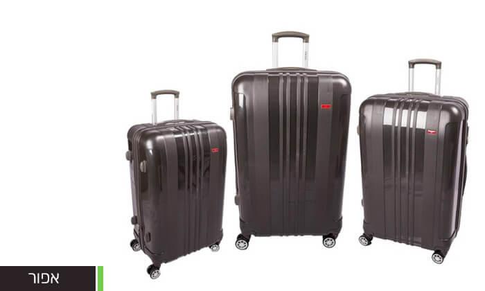 5 מזוודות SWISS בגדלים שונים
