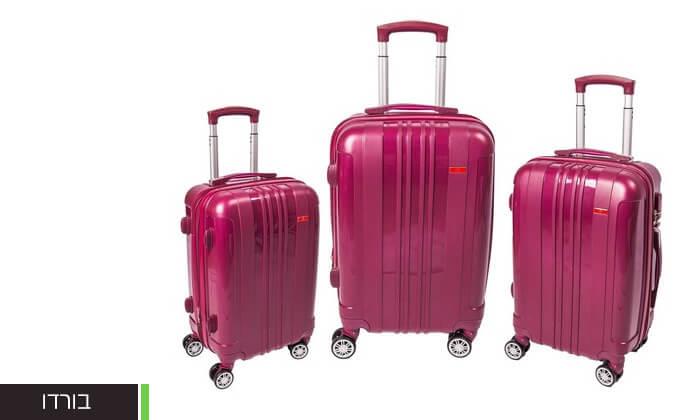 9 מזוודות SWISS בגדלים שונים