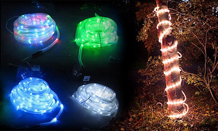 2 שרשרת נורות LED סולארית
