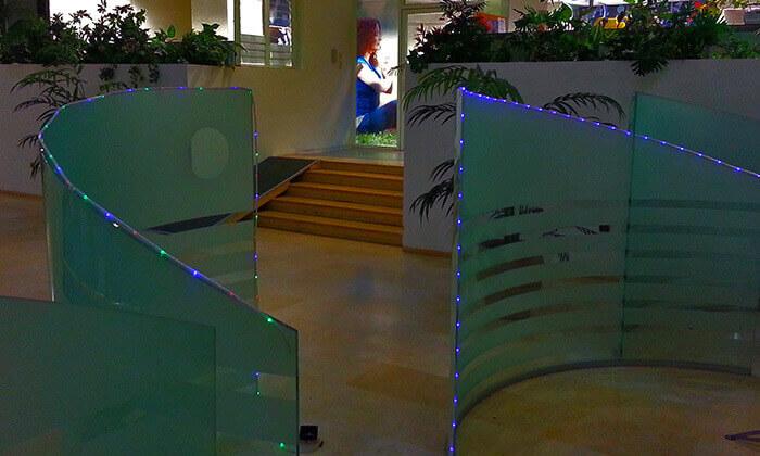 3 שרשרת נורות LED סולארית