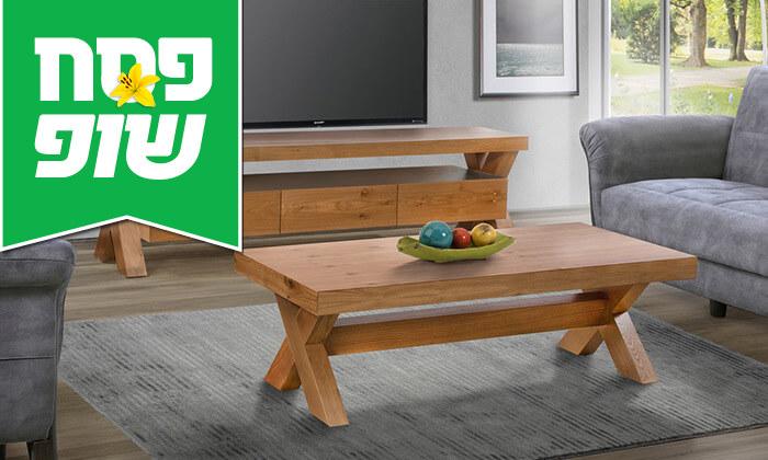 2 מערכת מזנון ושולחן לסלון LEONARDO