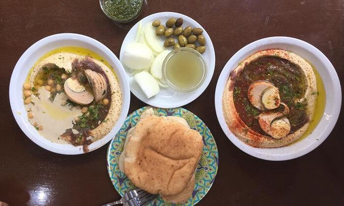 3 ארוחה בחומוס לוינסקי 41 בתל אביב