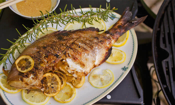 4 ארוחה זוגית בדרבי בר דגים, תל אביב
