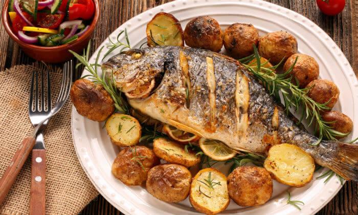 2 ארוחה זוגית בדרבי בר דגים, תל אביב