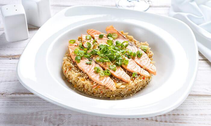 4 ארוחה זוגית בלה סרדין, מסעדת דגים במרינה אילת