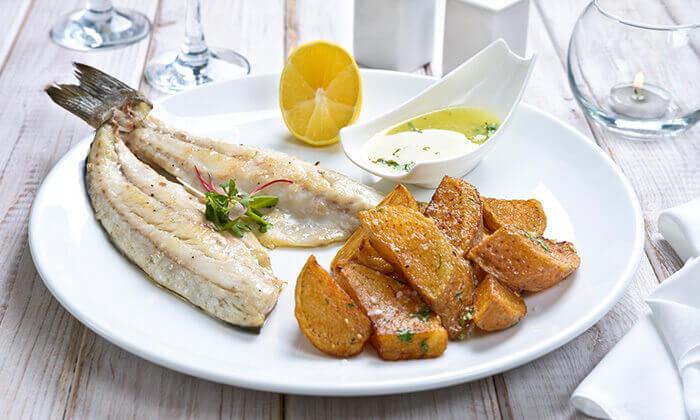 6 ארוחה זוגית בלה סרדין, מסעדת דגים במרינה אילת