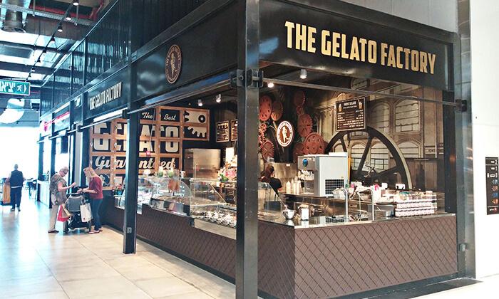 3 גלידה ב-T.A או משלוח מ-The Gelato Factory ג'לאטו ראשונים הכשרה, קניון ראשונים ראשון לציון