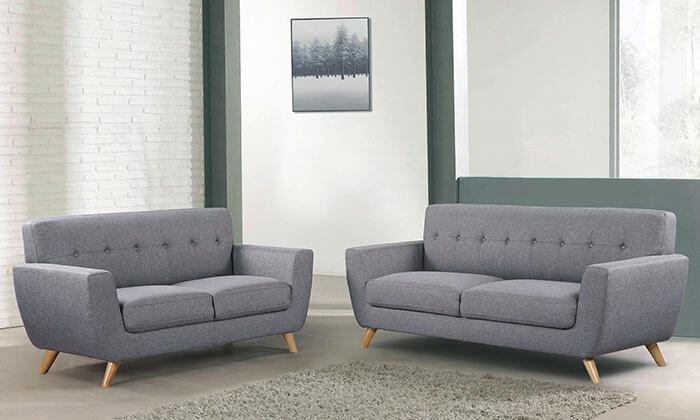 3 סלון דו ותלת מושבי HOME DECOR דגם גרייס