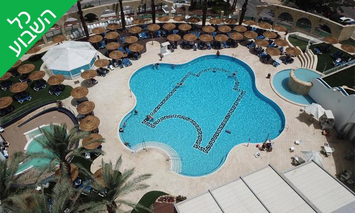 11 ימי כיף זוגיים בספא מלון דניאל, עם אופציה לעיסוי וארוחת צהריים - ים המלח