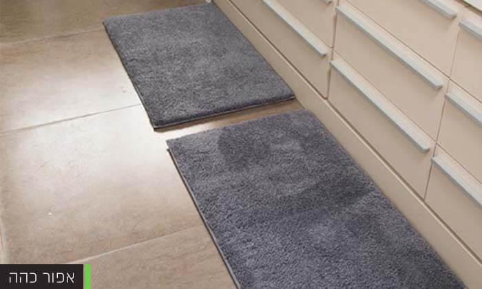 2 זוג שטיחוני אמבטיה - משלוח חינם