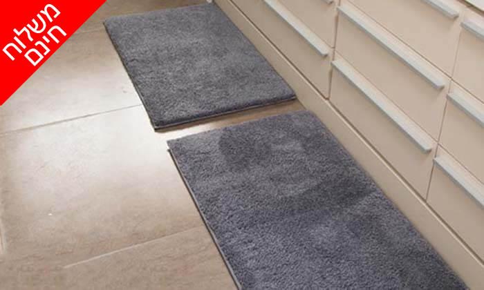 5 זוג שטיחוני אמבטיה - משלוח חינם