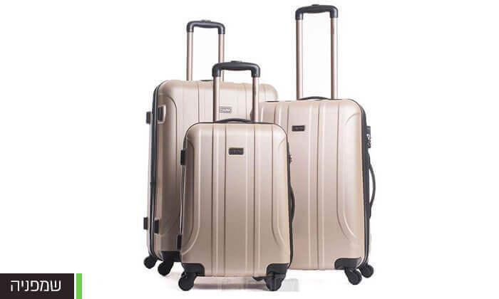 8 סט מזוודות Calpaks