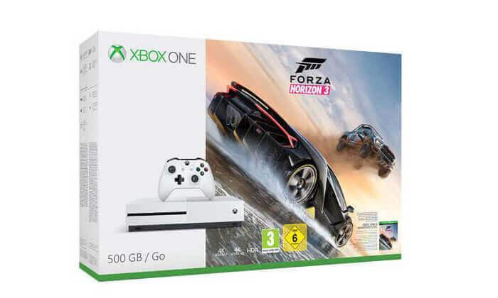 4  קונסולת משחק XBOX ONE S